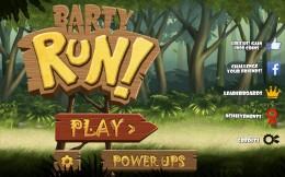 Меню  - Barty Run для Android