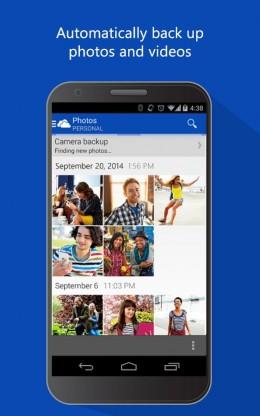 Фото - OneDrive для Android