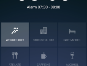 Интерфейс - Sleep Better with Runtastic для Android
