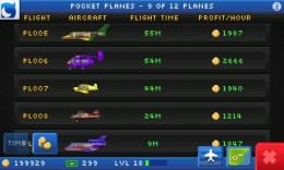 Самолеты - Pocket Planes для Android