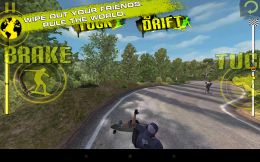 Геймплей - Downhill Xtreme для Android