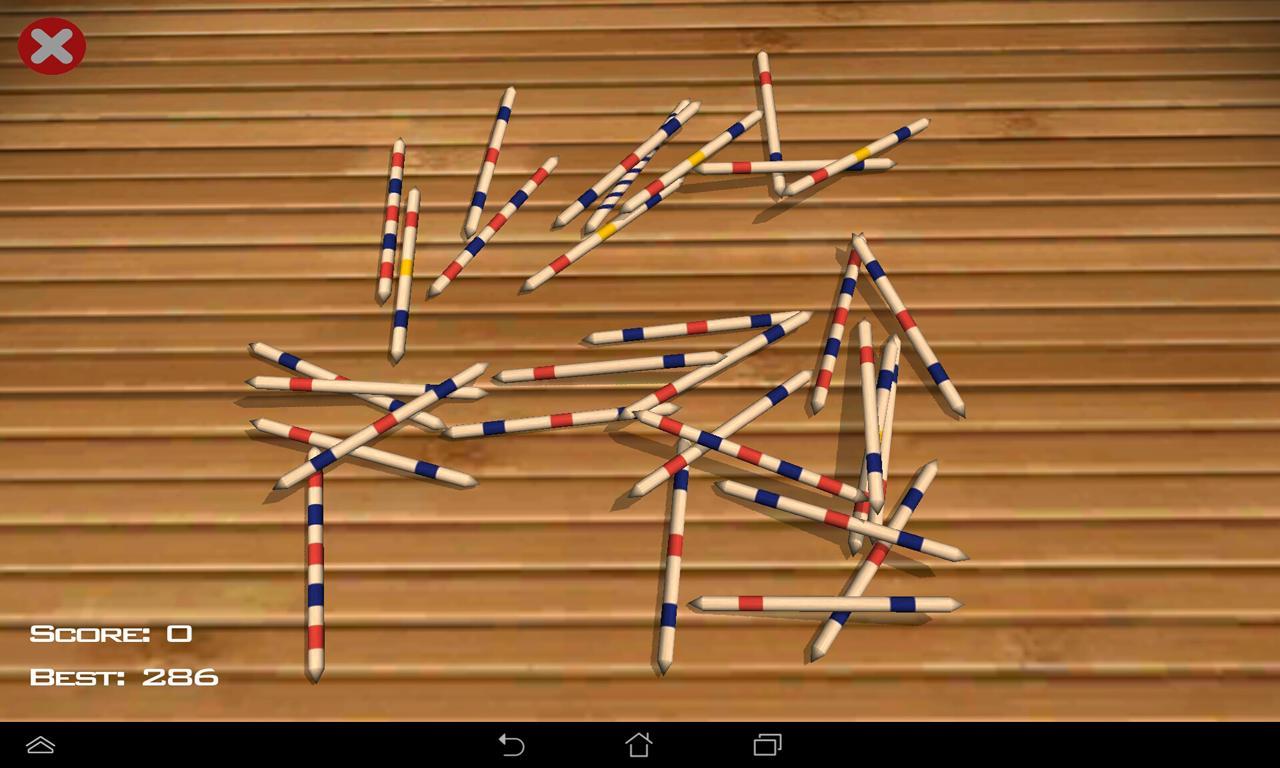 Палочки - Pickup sticks Mikado для Android