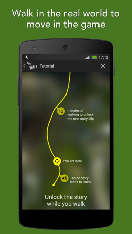 Карта - The Walk: Fitness Tracker Game для Android