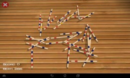 Начало игры - Pickup sticks Mikado для Android