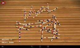 Начало игры - Pickup sticks Mikado для Android