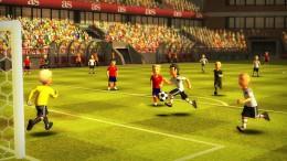Геймплей - Striker Soccer Euro 2012 для Android