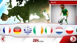 Страные - Striker Soccer Euro 2012 для Android