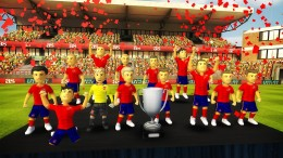 Кубок - Striker Soccer Euro 2012 для Android