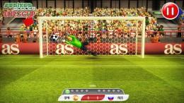 Вратарь - Striker Soccer Euro 2012 для Android