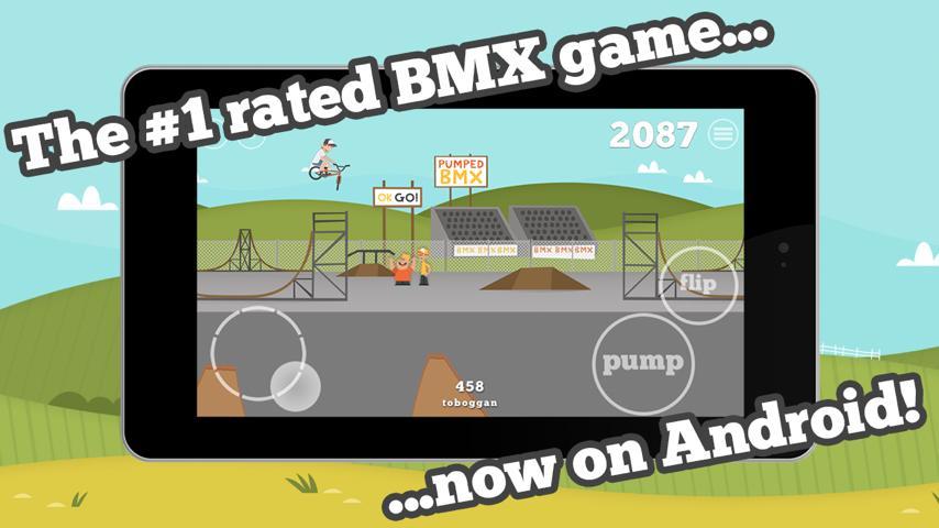 Геймплей - Pumped: BMX для Android
