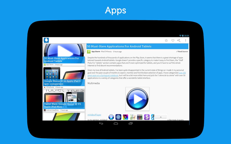 Приложения - Drippler для Android