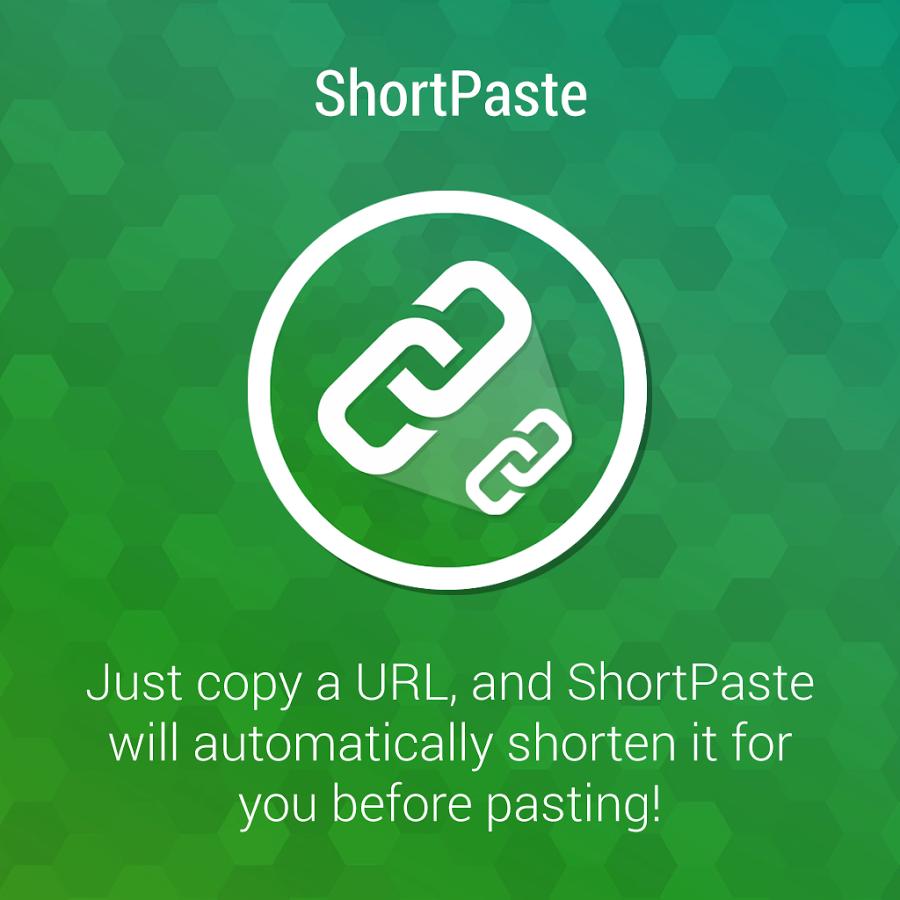 Описание - ShortPaste для Android