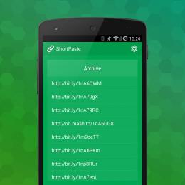 Архив - ShortPaste для Android