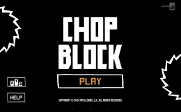 Главный экран - Chop Block для Android