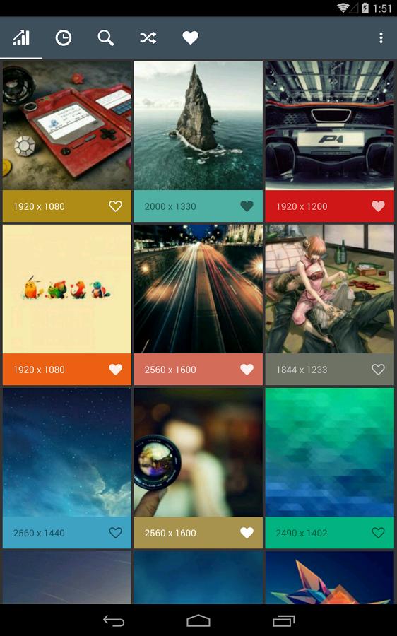Превью - Wally для Android