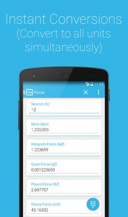 Конвертация - S Converter для Android