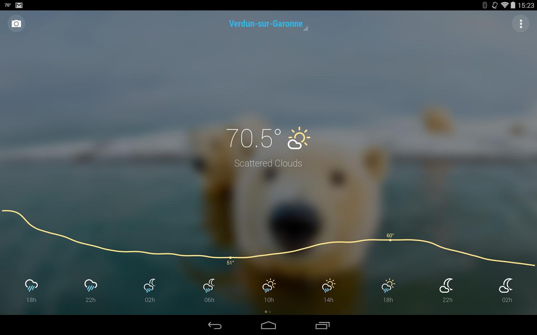 График - Bright Weather для Android