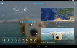 Интерфейс - Bright Weather для Android
