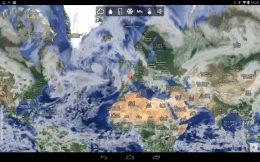 Карта - Bright Weather для Android