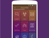 Карточки - 9 Cards Home Launcher для Android