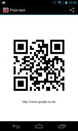 QR-код - Barcode Scanner для Android