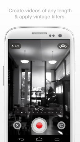 Камера - Socialcam для Android