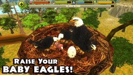 Eagle Simulator - гнездо