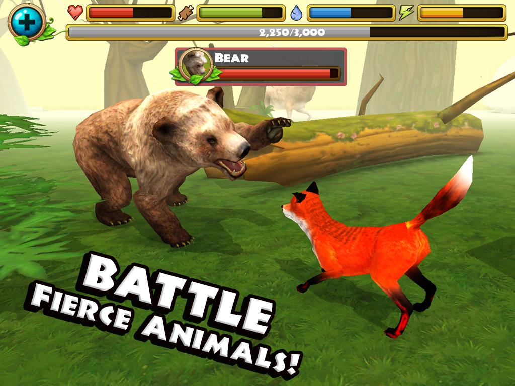 Скачать игру fox simulator на компьютер