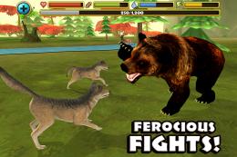 Wildlife Simulator: Wolf - битва