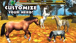 Wild Horse Simulator - семья