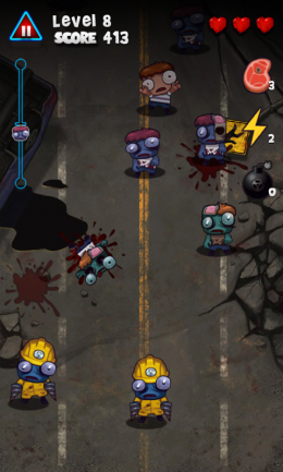 Zombie Smasher - игра