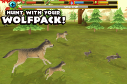 Wildlife Simulator: Wolf - охота