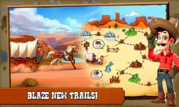Westbound: Pioneer Adventure - карта