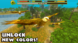 Eagle Simulator - орлы