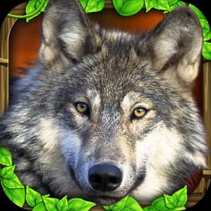 Wildlife Simulator: Wolf - иконка