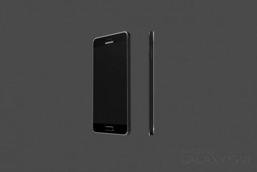 Первые качественные рендеры Samsung Galaxy S6 - шикарный внешний вид