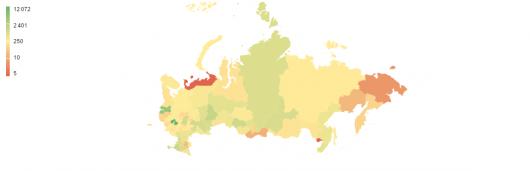 География регионов