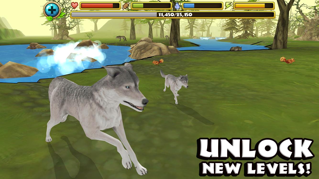 Скачать симулятор волка играть