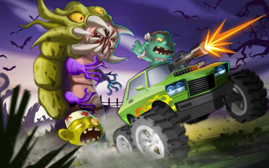 Mad Zombies: Road Racer  - крутые тачки