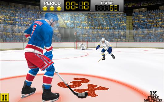 NHL Hockey Target Smash  - реальные матчи