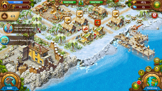 Maritime Kingdom - город у моря