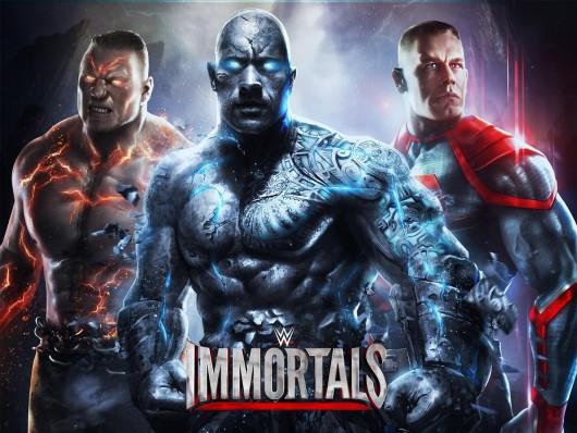 WWE Immortals - опасные сражения