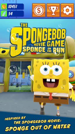 SpongeBob: Sponge on the Run - красочный раннер