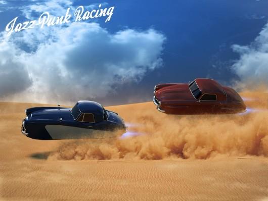 Jazz-Punk Racing - футуристические гонки