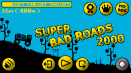 Super Bad Roads 2000 - игра