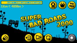 Super Bad Roads 2000 - игра