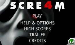 Scre4m - меню