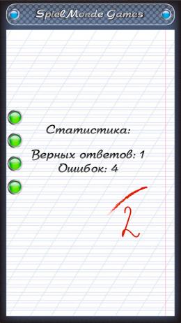 Тест по русскому языку - итог