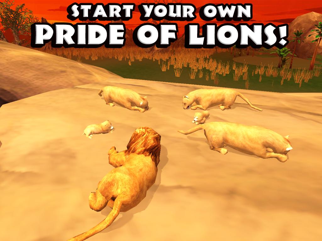 симулятор льва на компьютер скачать