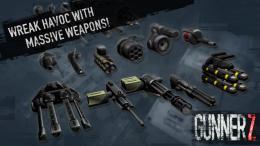 Gunner Z - оружие